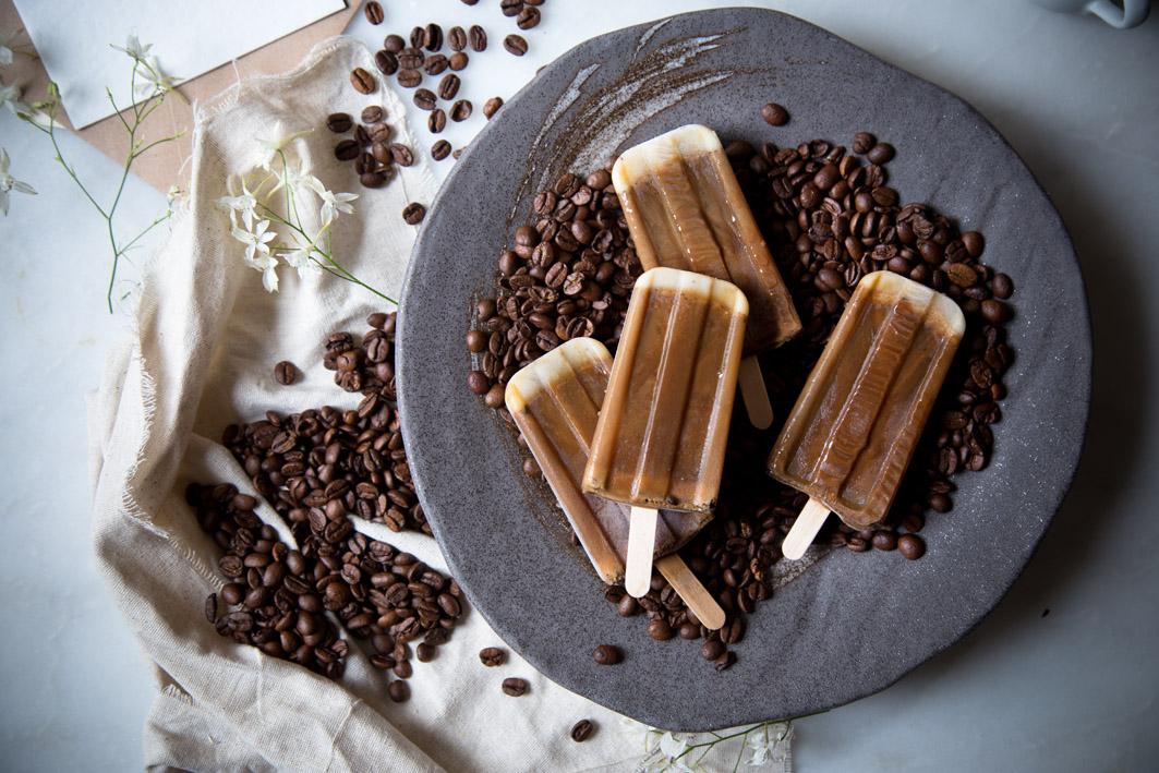 kaffee latte eis