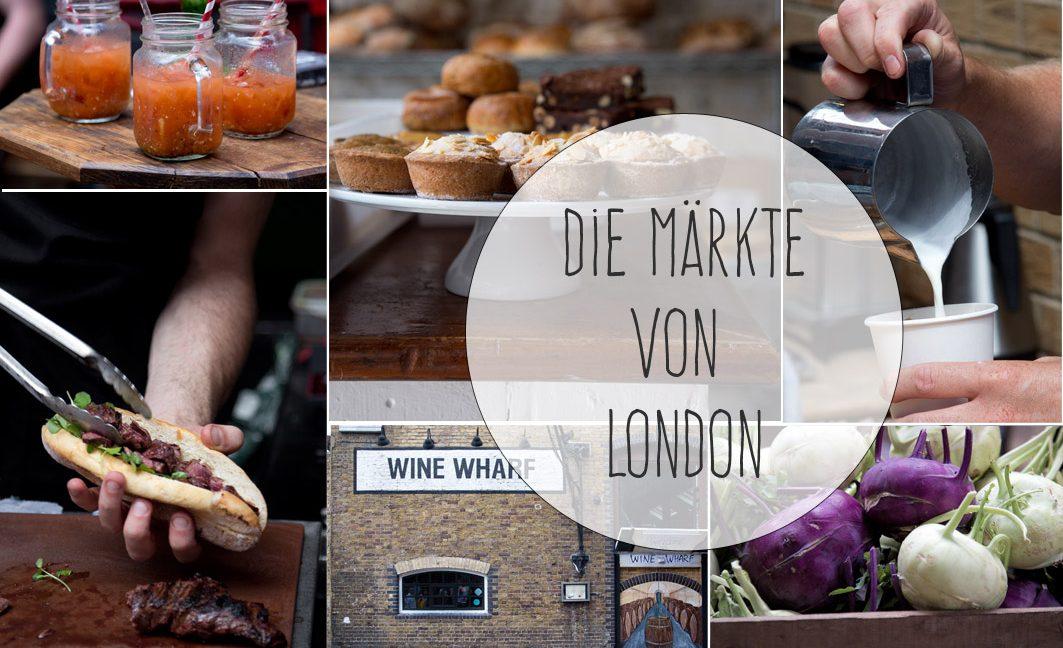London Guide: Die Märkte in London.