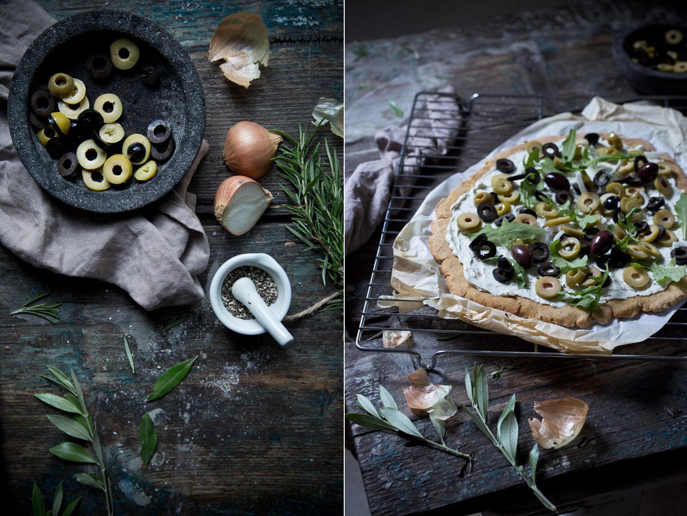 olivenflammkuchen rezept
