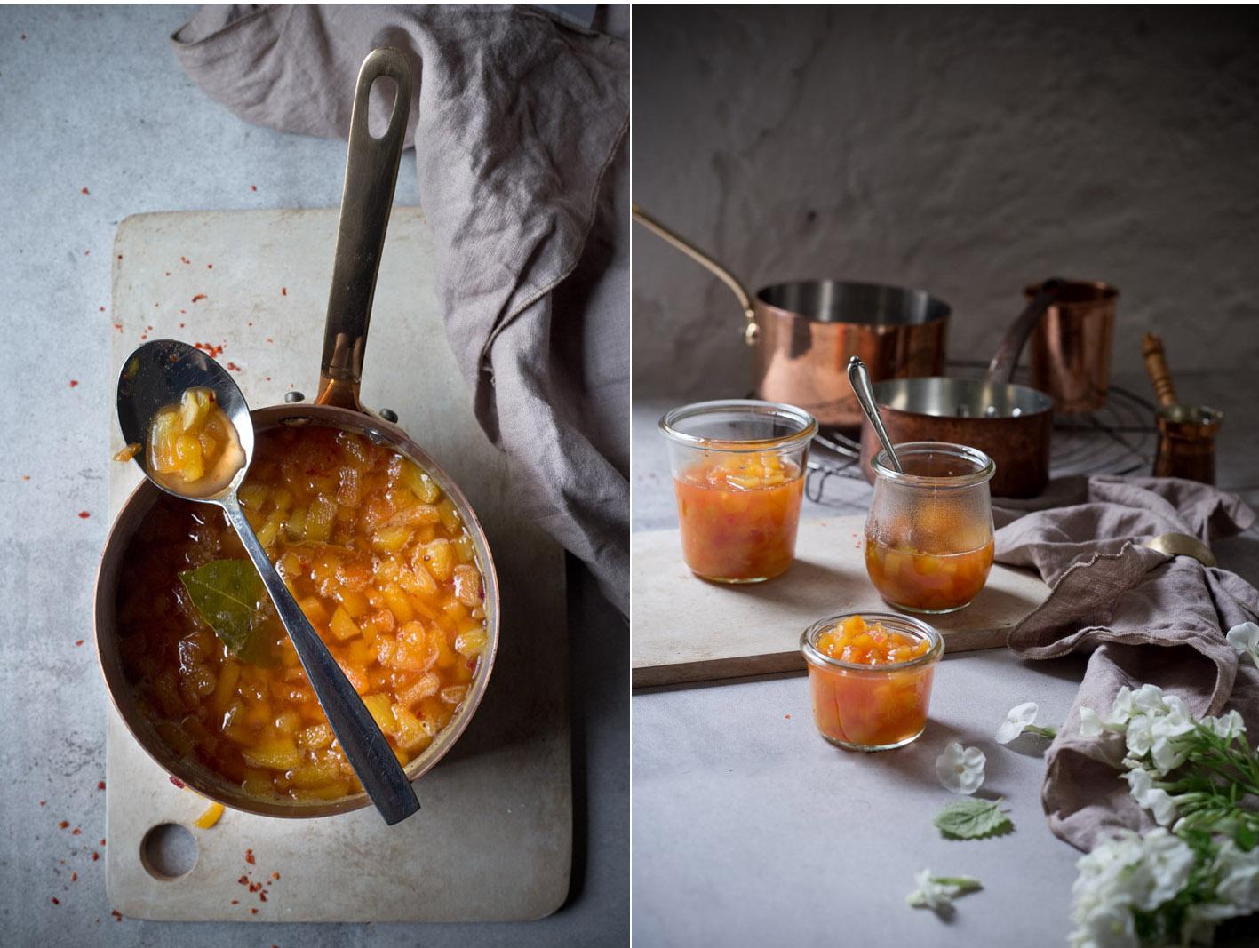 pfirsich chutney einkochen