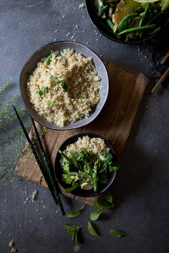 quinoa thai curry