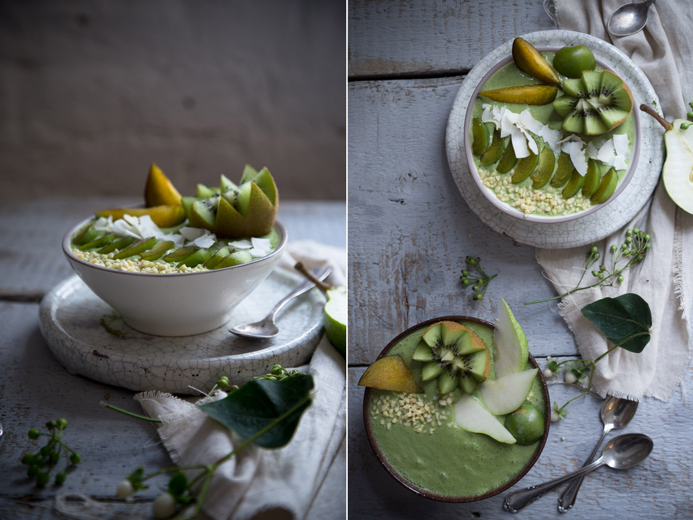 matcha smoothie bowl foodlovin