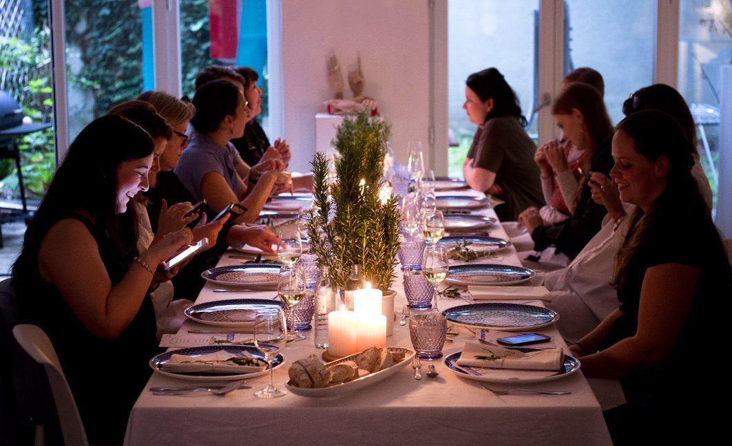 bluDinner – Ein italienisches Blogger-Dinner in München.