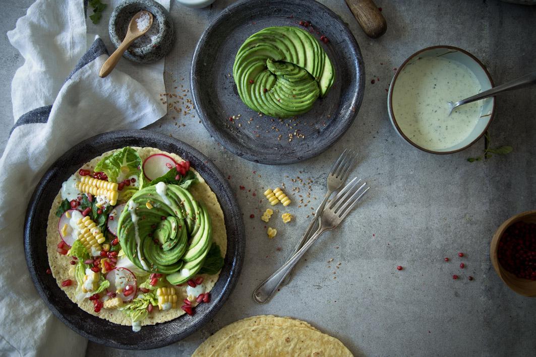 mexikanischer avocado salat