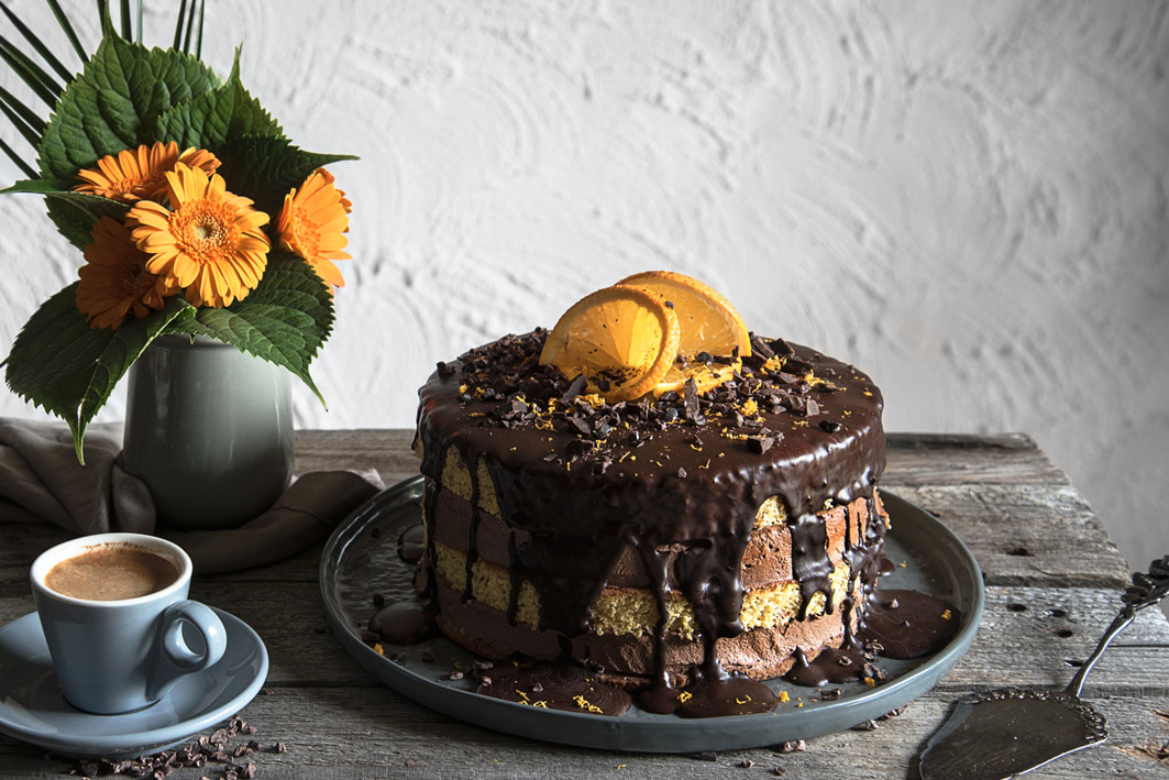 rezept für schoko orangen torte