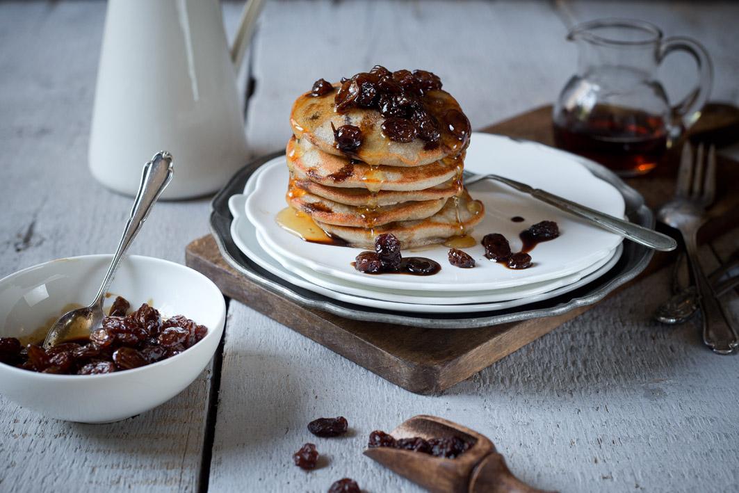 rosinenpancakes rezept