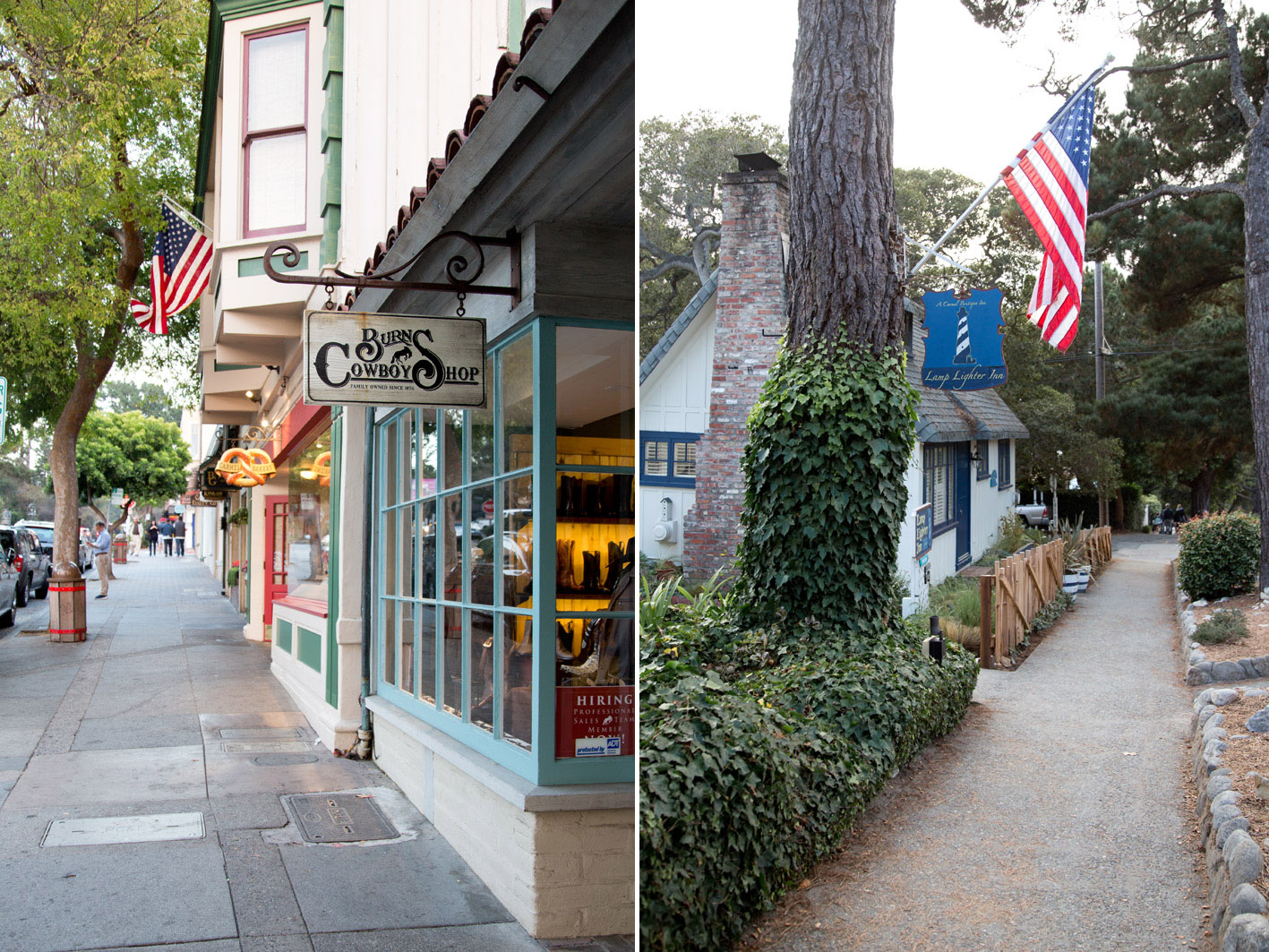 shops in carmel