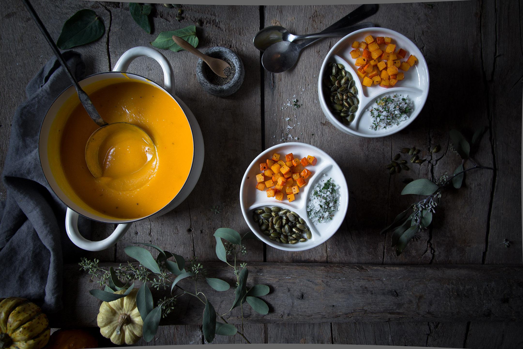 kuerbis suppe rezept