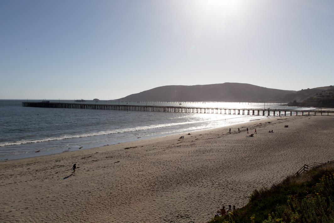 avila beach sonnenuntergang