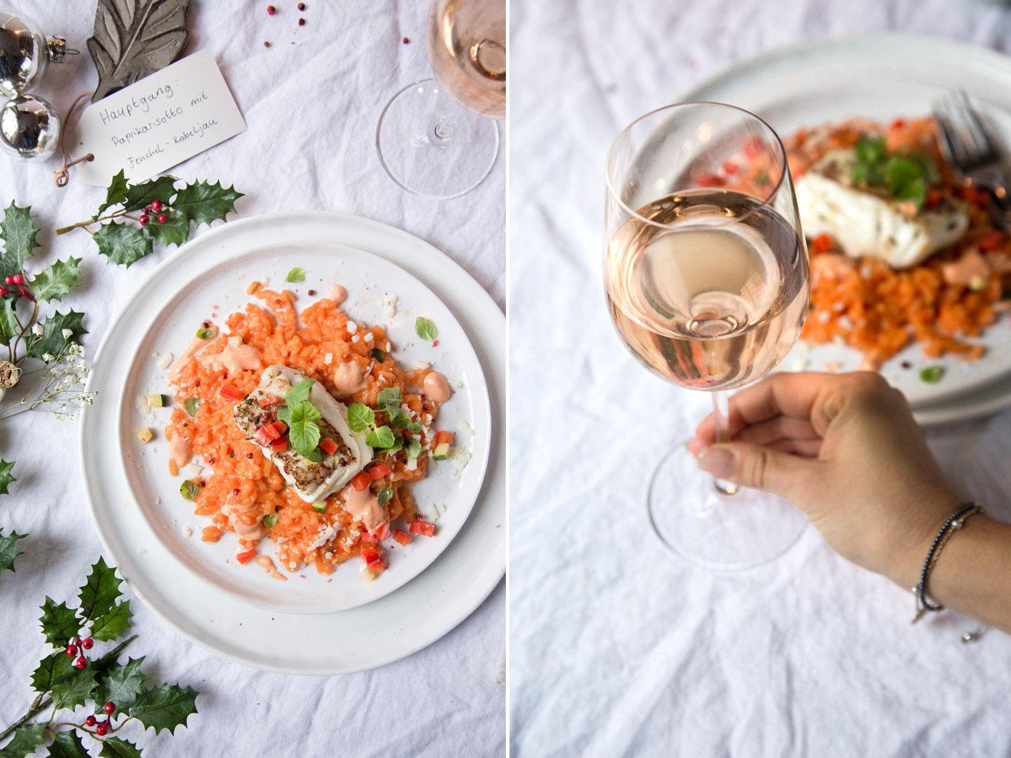 risotto mit paprika