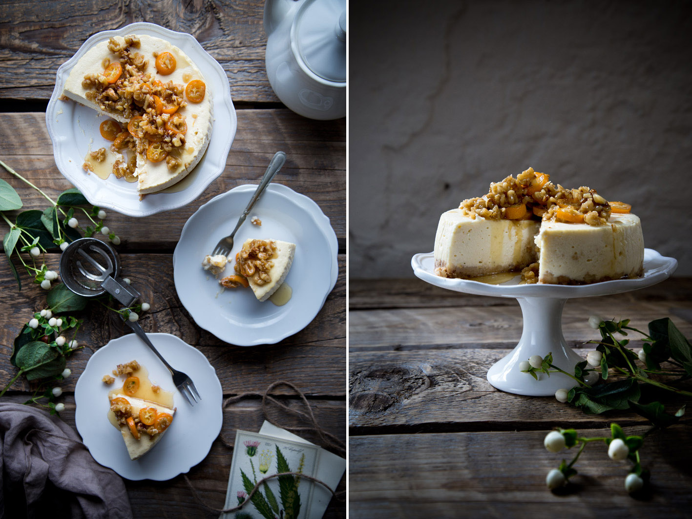 walnuss cheesecake