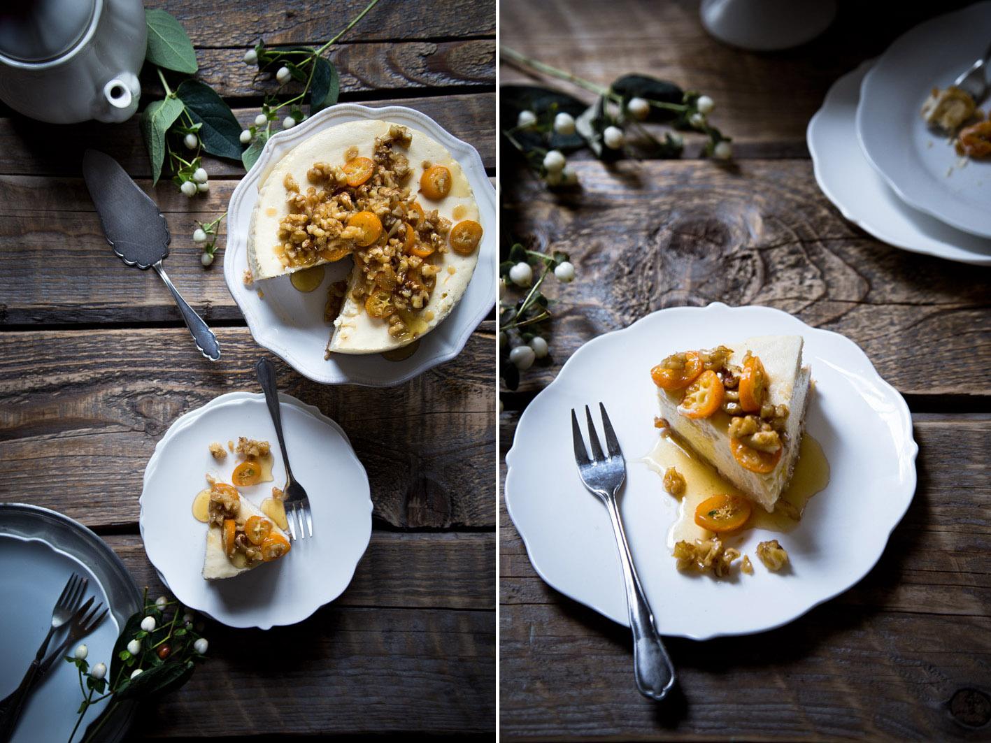 walnuss orangen cheesecake