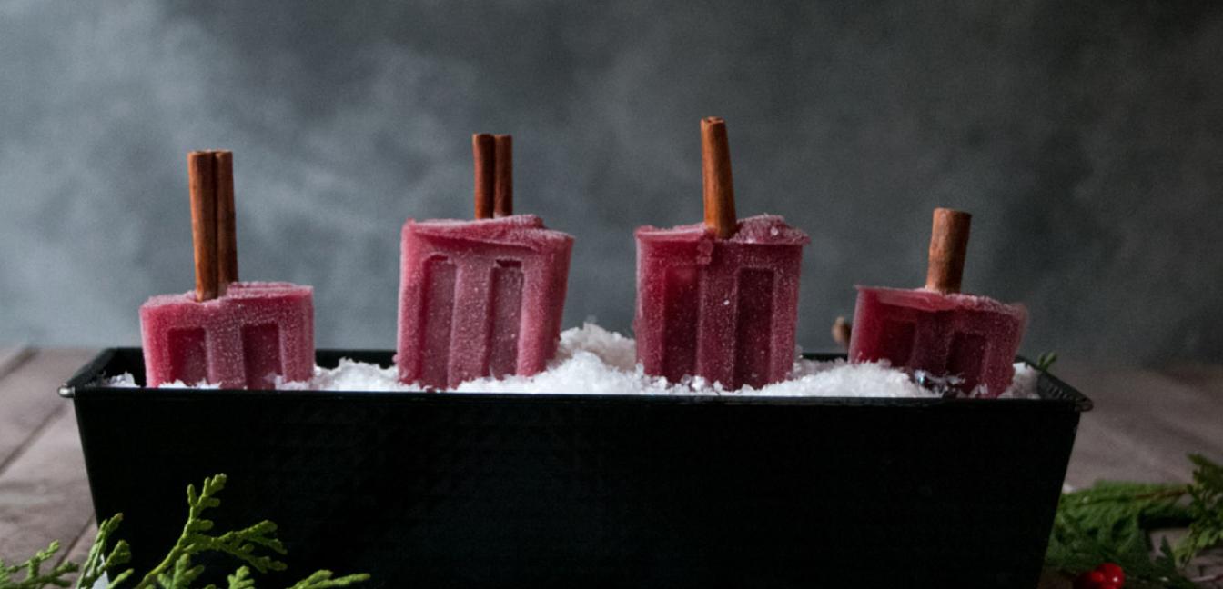 Glühwein-Eis am Stiel – besser als im Becher!