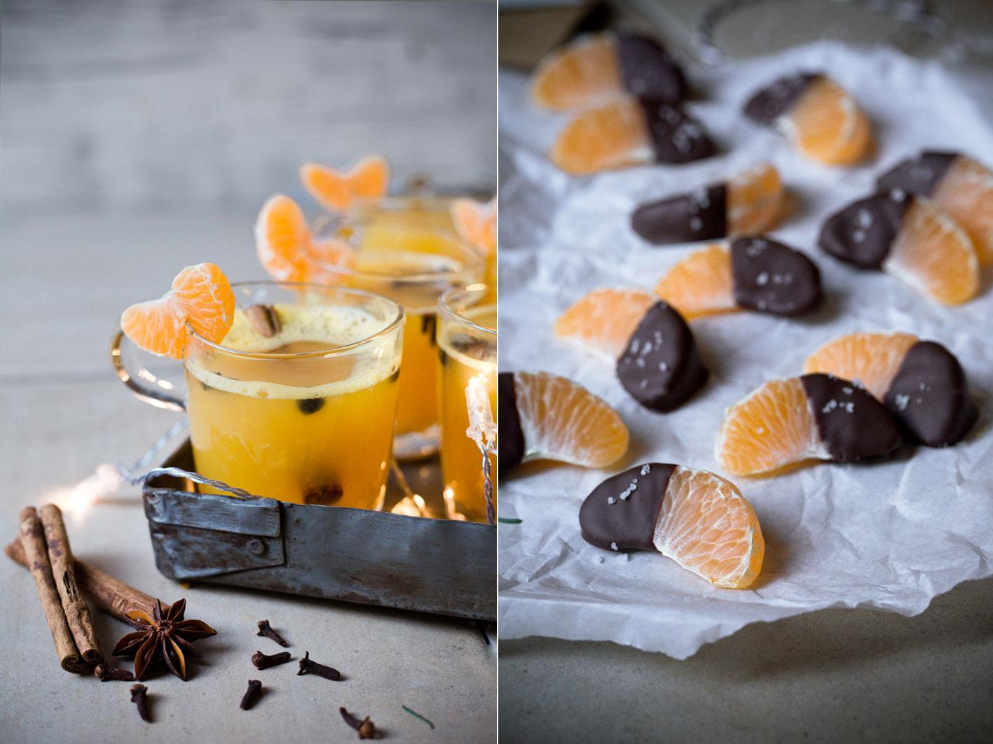 rezept für mandarinen gluehwein