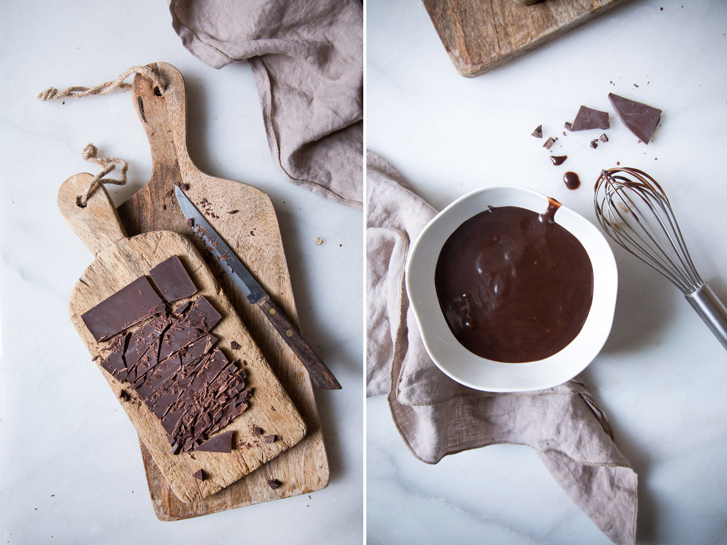 schokolade schmelzen