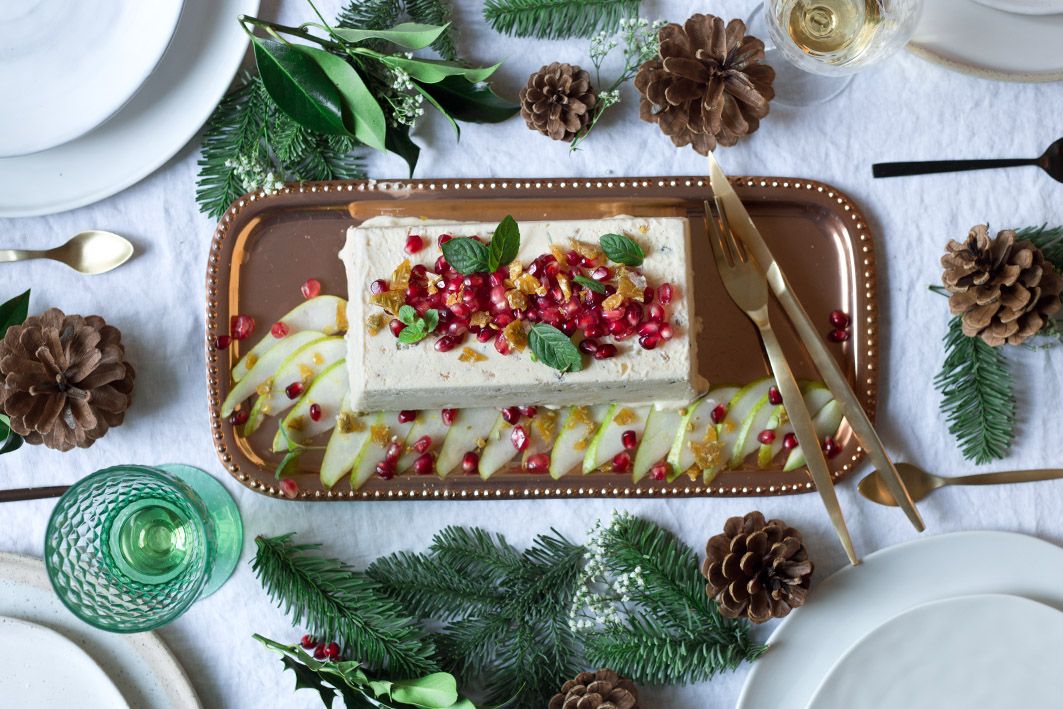 weihnachtliches tonkabohnenparfait