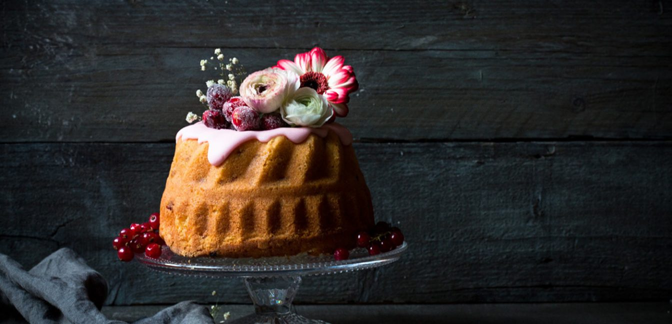 Cosmopolitan-Kuchen für den Foodistas-Bloggeburtstag.
