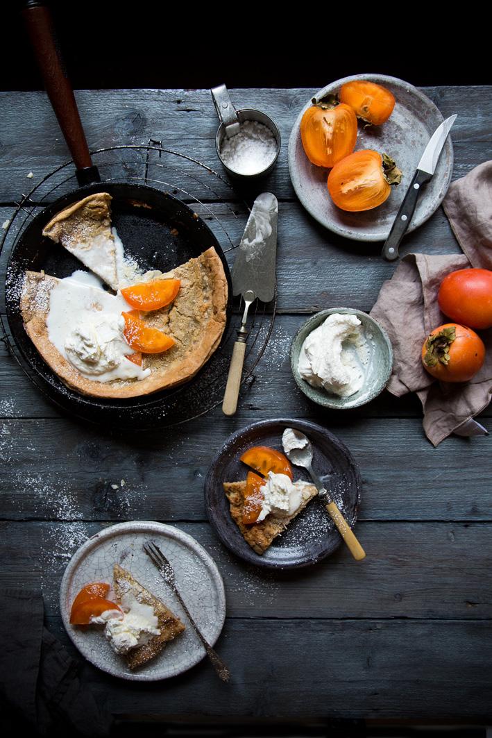 Dutch Baby - Ofenpfannkuchen mit Sahne