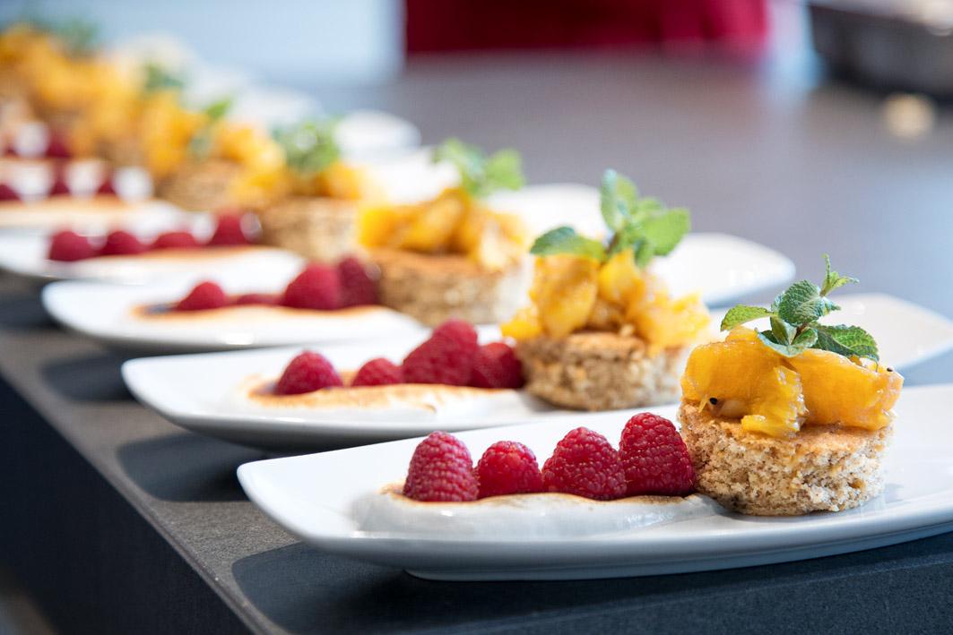 Dessert in der Fissler-Kochakademie