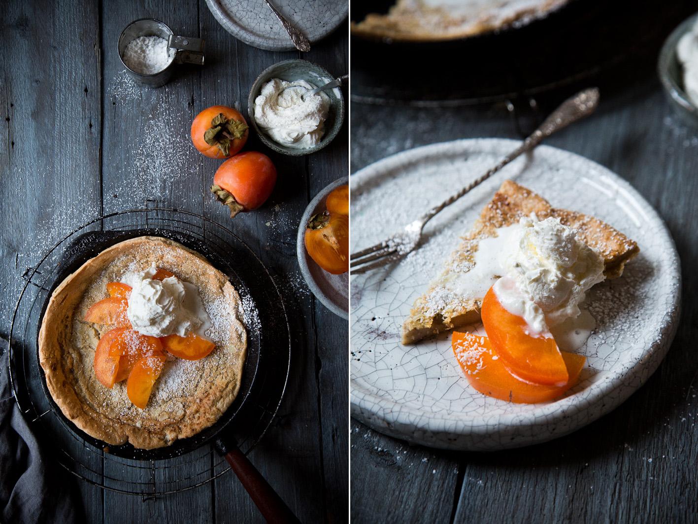 Dutch Baby - Pfannkuchen aus dem Ofen mit Kokossahne