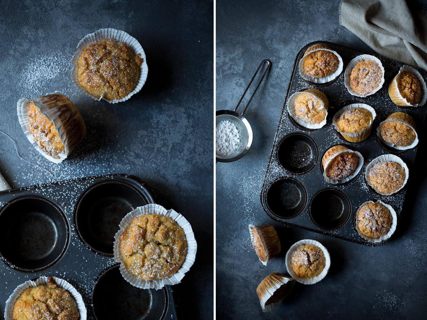 Orangen Joghurt Muffins