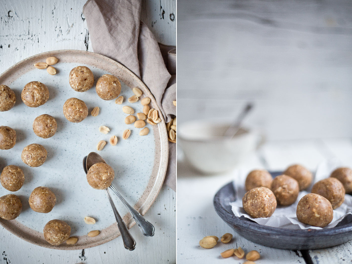 peanutbutter protein energy balls