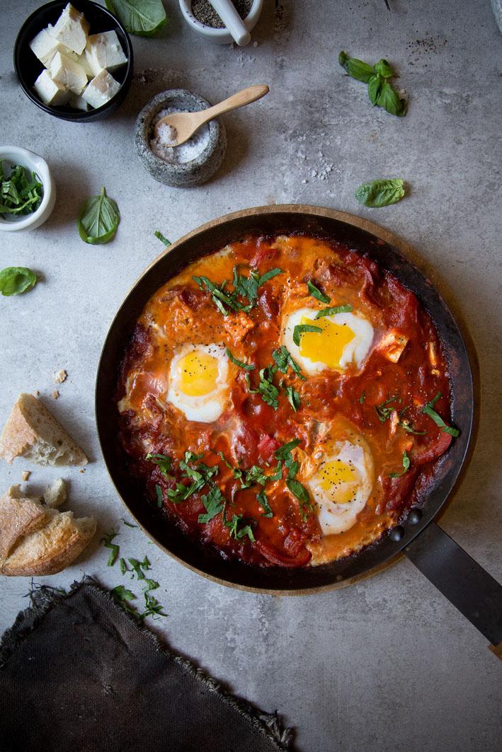 shakshuka eier