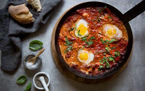 Shakshuka – Herzhaftes Frühstück aus der Pfanne.