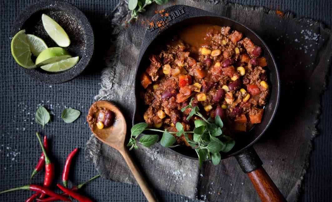 Einfaches und schnelles Rezept für Chili con Carne.