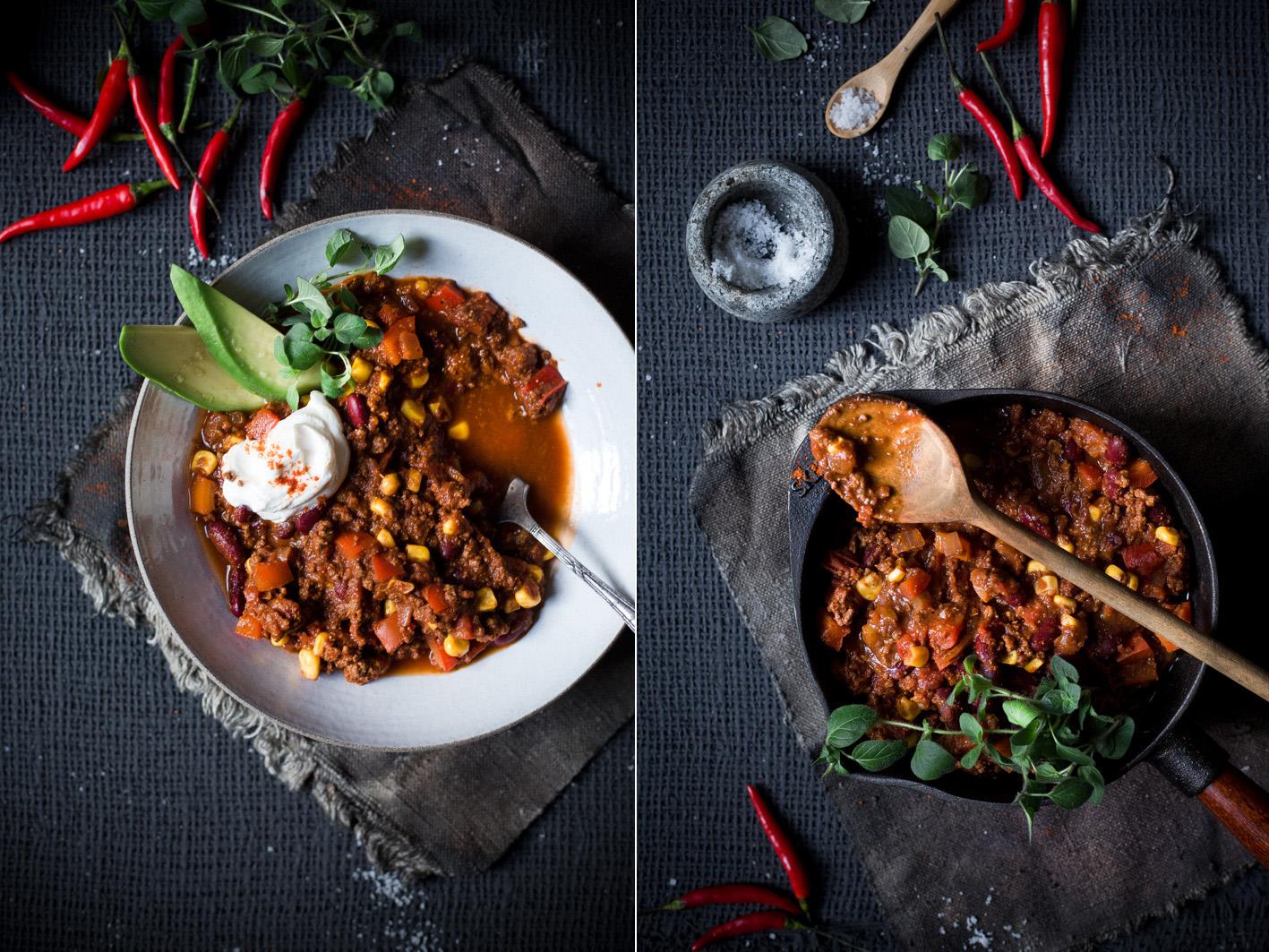 Einfaches und schnelles Rezept für Chili con Carne