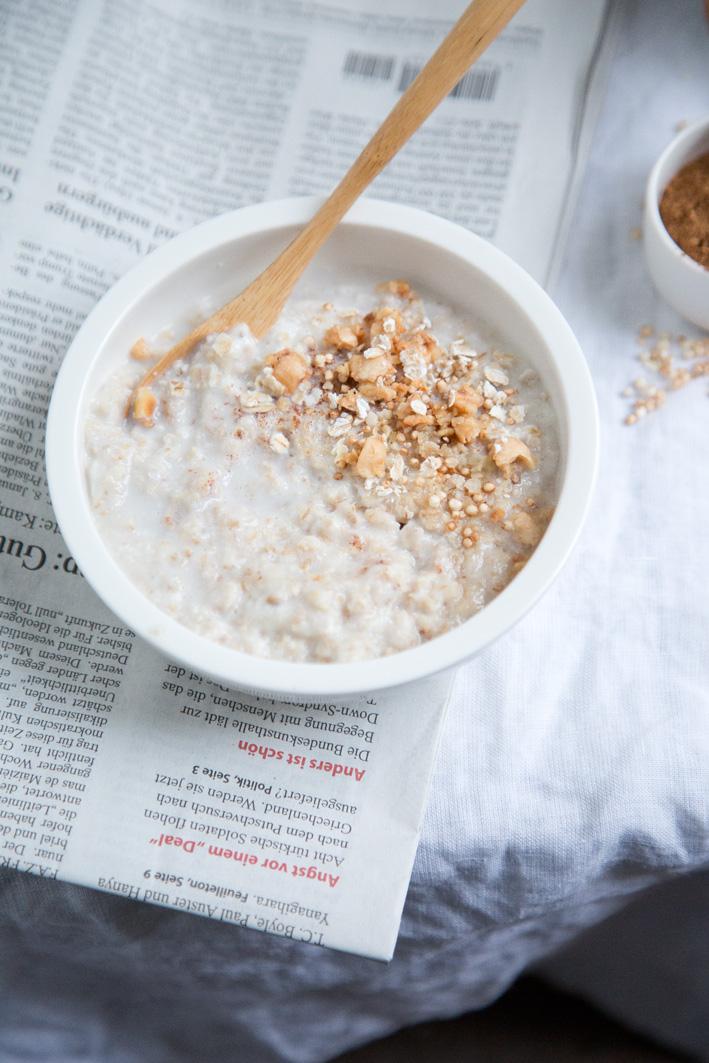Cremiges Oatmeal Rezept