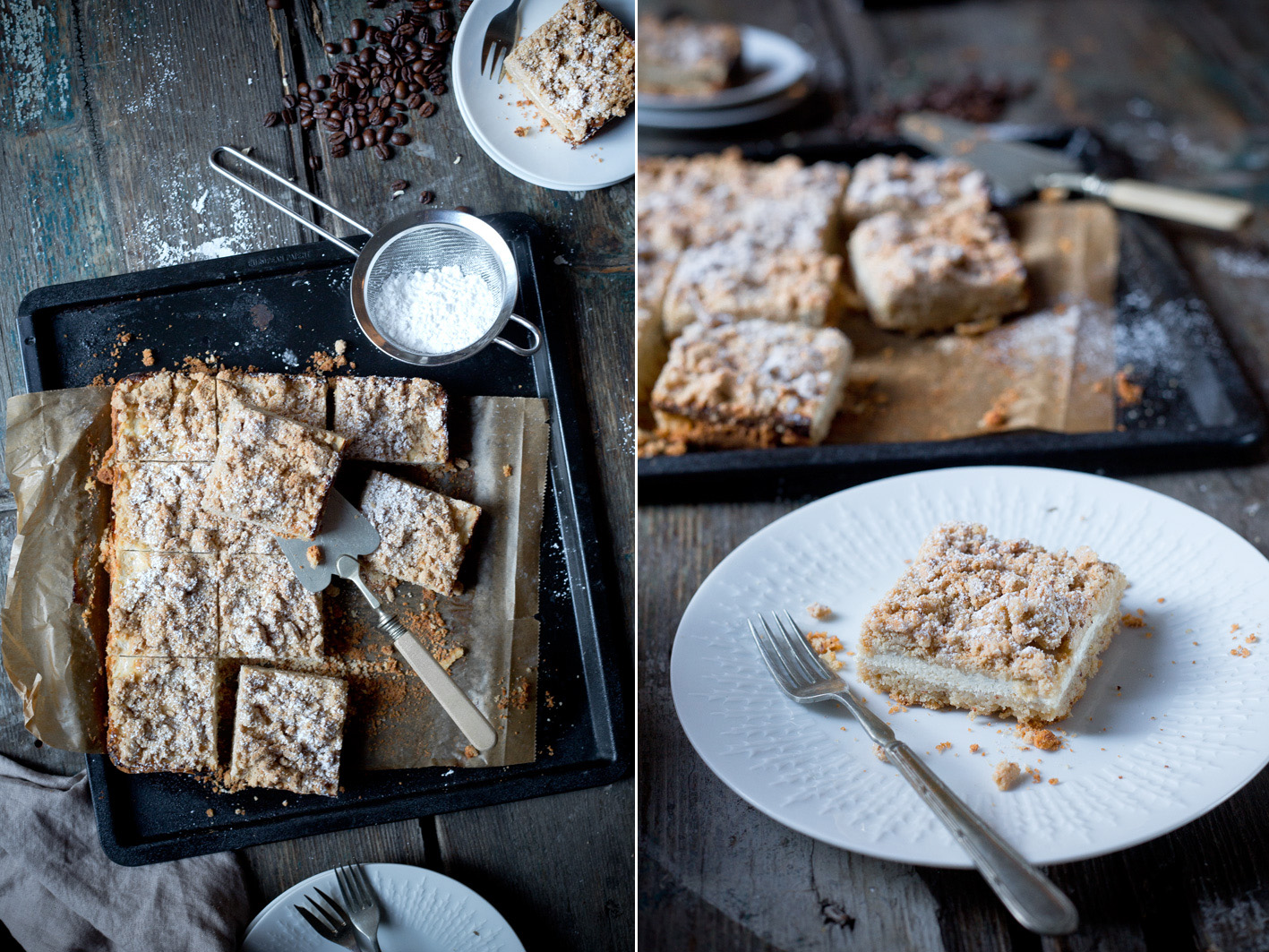 Glutenfreier Streuselkuchen aus gesunden Zutaten