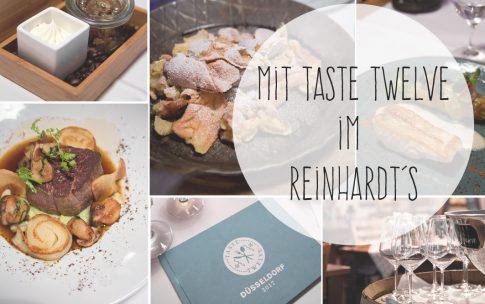 Mit Taste Twelve im Reinhardt's in Düsseldorf. Gewinnt einen Taste Twelve Restaurantführer!