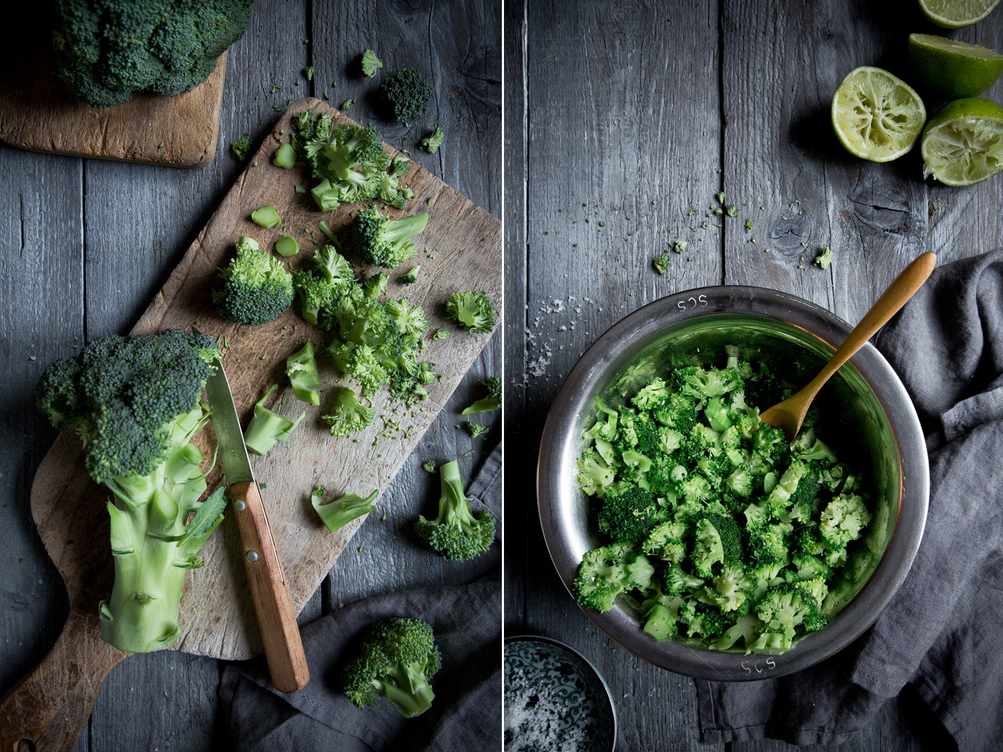 Broccoli roh essen