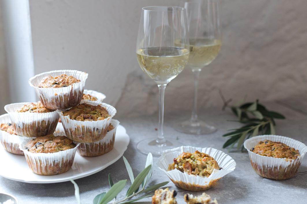 Rezept für herzhafte Muffins