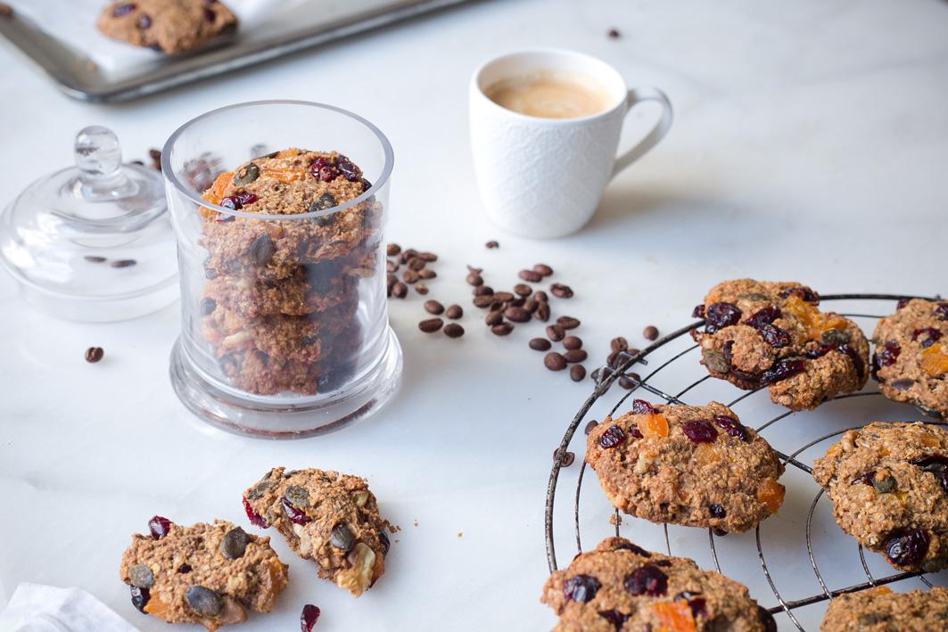 Kaffee und Cookies