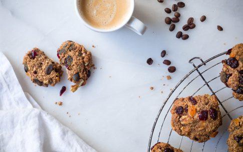 Gesunde Müsli-Cookies.
