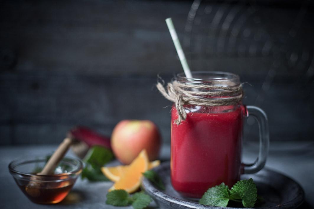 Mein Lieblingssaft mit Roter Bete, Apfel, Orange und Möhre