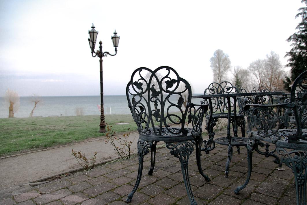 Terasse Schlosshotel Klink