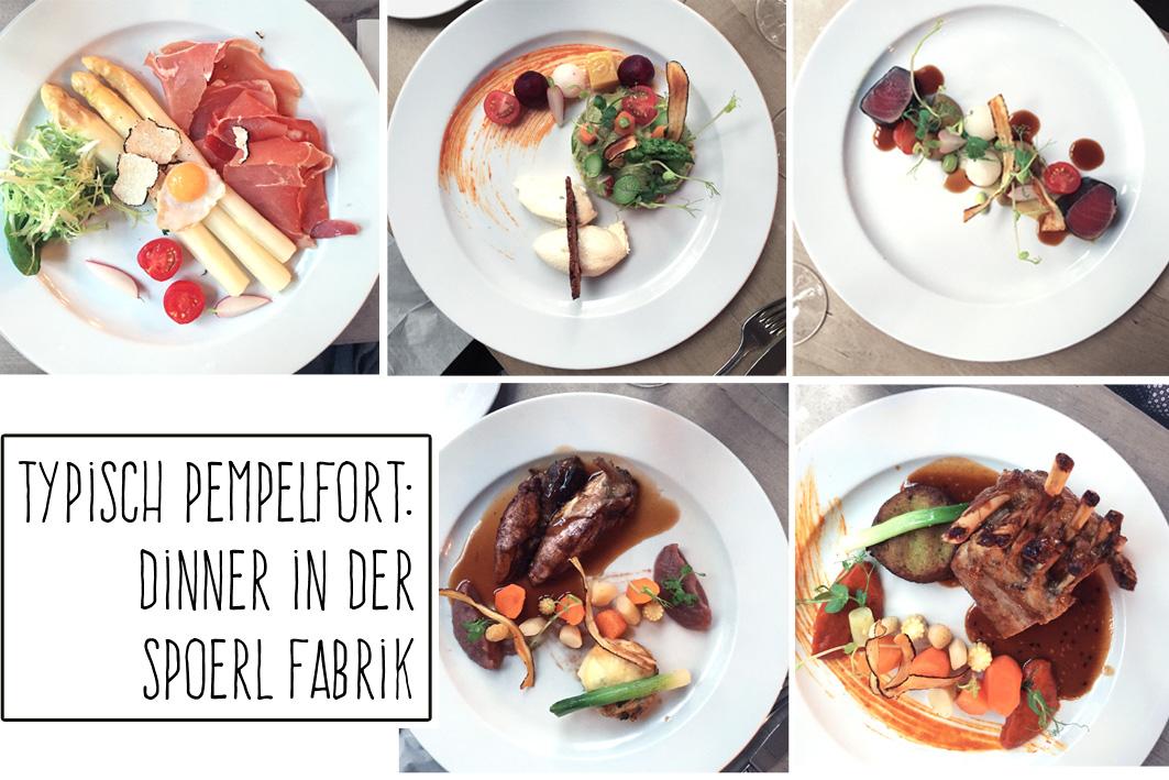 Restaurant-Tipp für Düsseldorf: Restaurant Spoerl Fabrik
