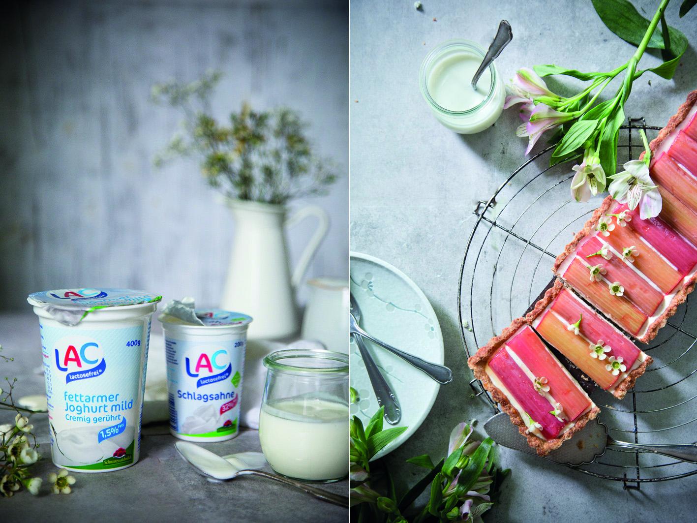 Laktosefreie Joghurt Tarte