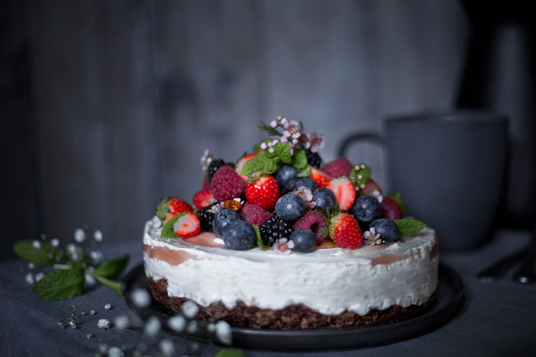 Low Carb Quarktorte