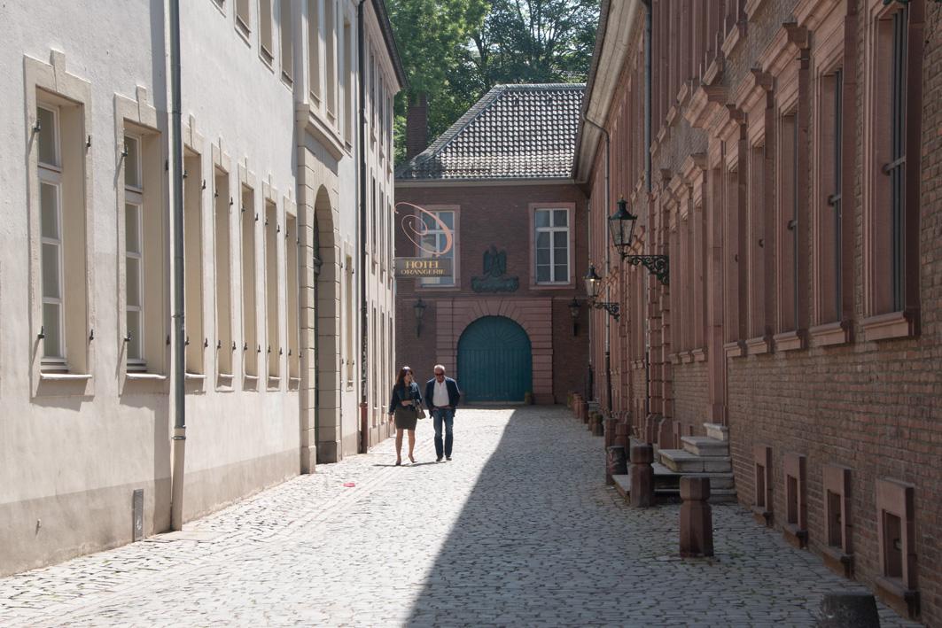 Gasse in Düsseldorfer Altstadt
