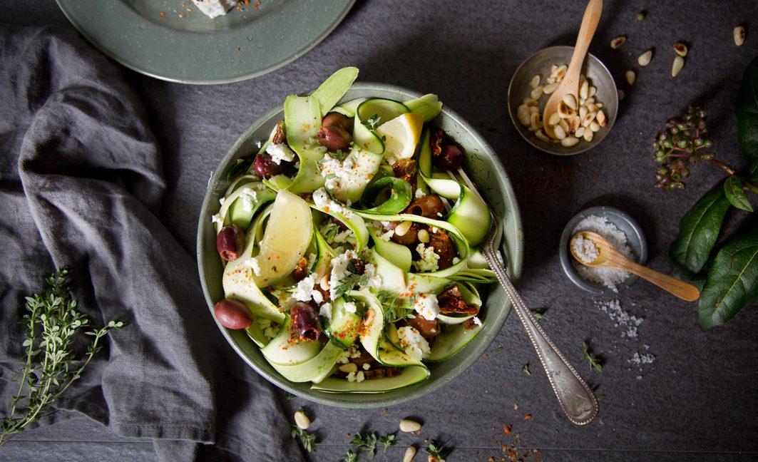 Roher Zucchinisalat - Ruck zuck fertig!