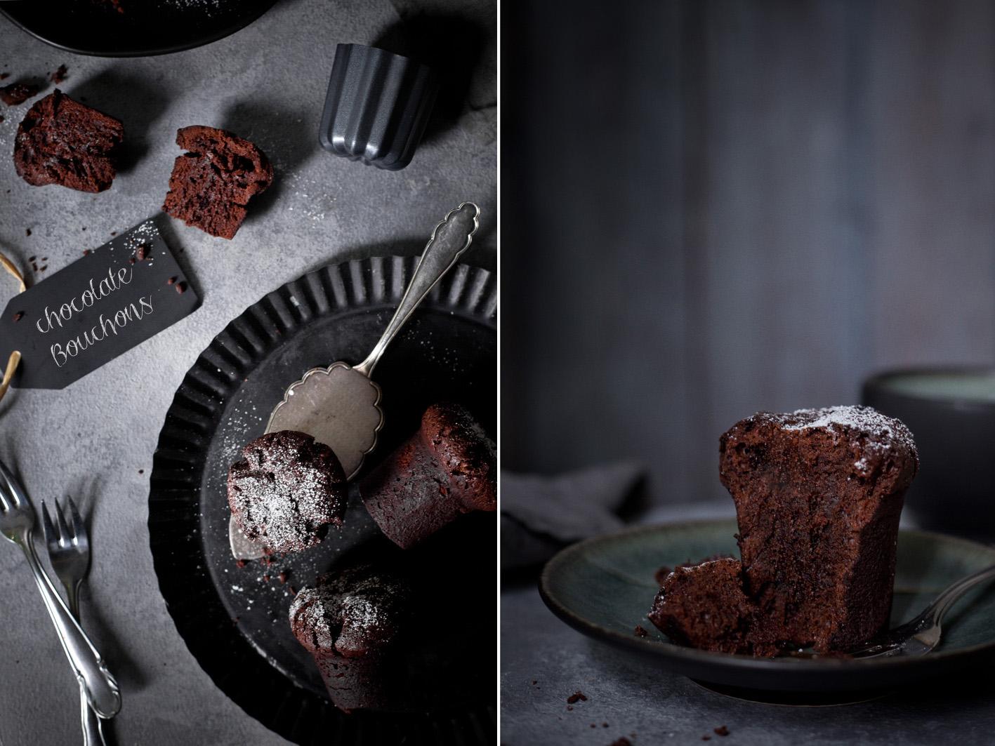 Saftige Schokoladen Bouchons