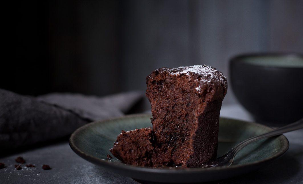 Schokoladen Bouchons aus gesunden Zutaten.
