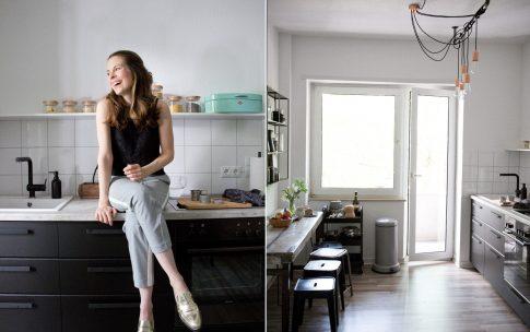 Room Tour: Die Küche in meinem neuen Büro.