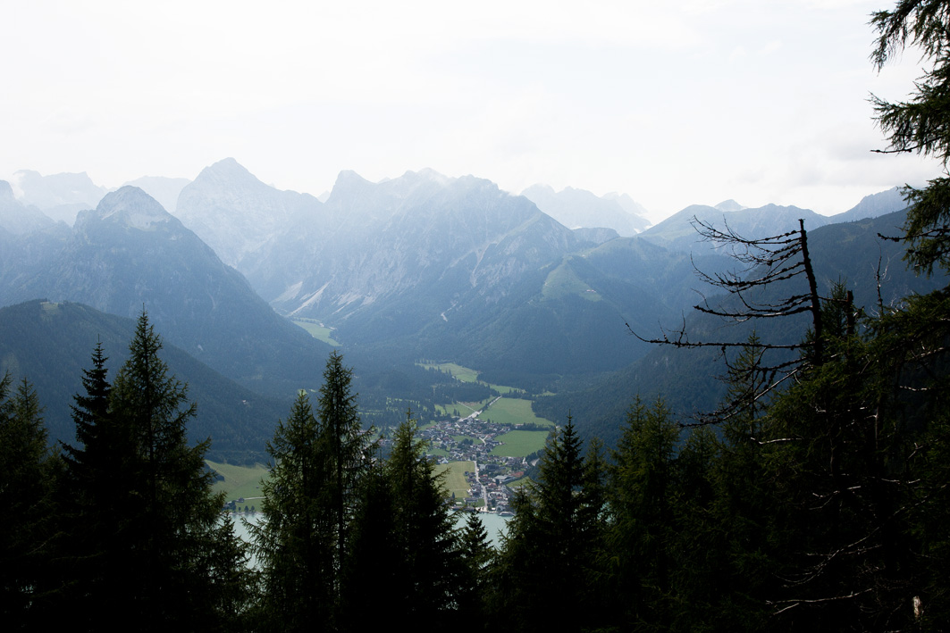 Aussicht Berge Achensee