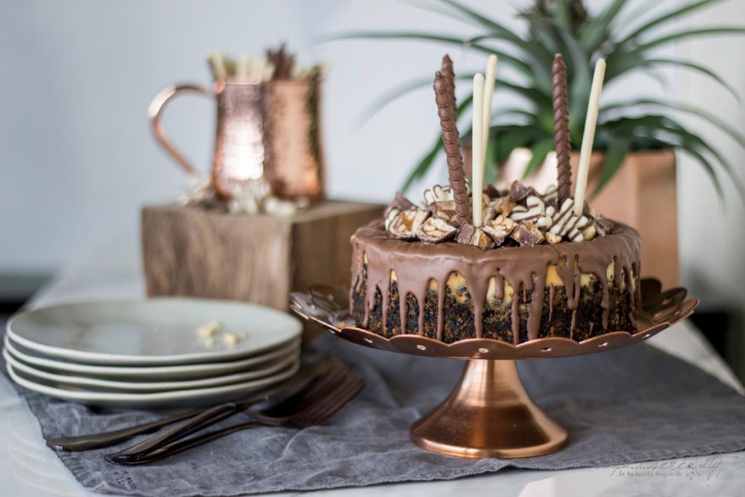 Snickers Cheesecake REzept