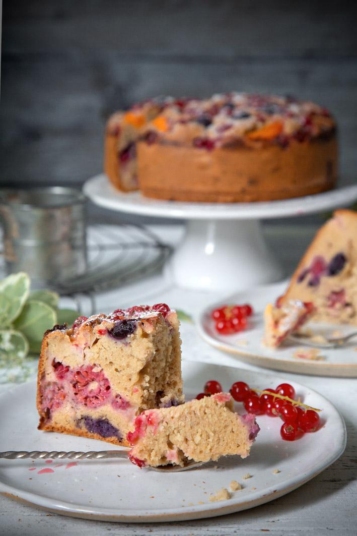Einfaches Rezept für glutenfreien Obstkuchen